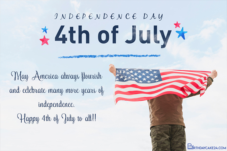 Latest USA Independence Day Cards Images