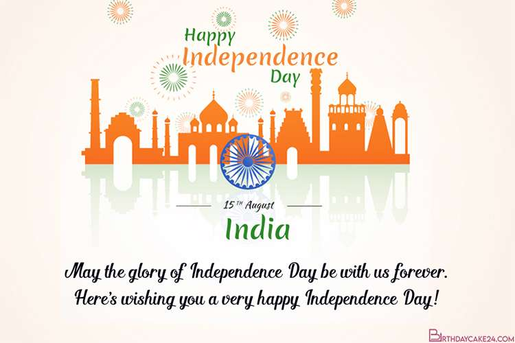 Happy India Independence Day August 15 Cards