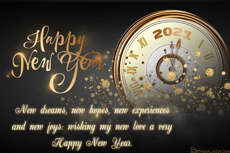 New Year's 2021 eCards & Greeting Cards Online