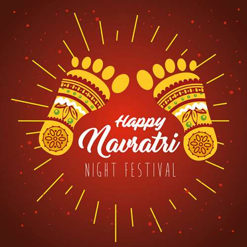 Happy Navratri 2021 Cards