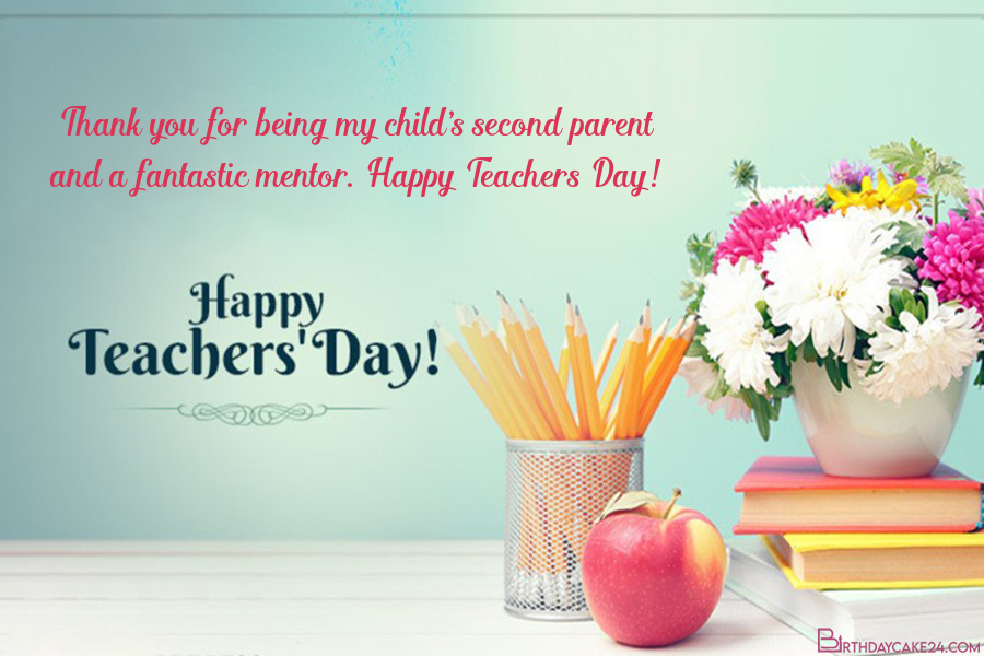 teachers day greeting wishes card online free