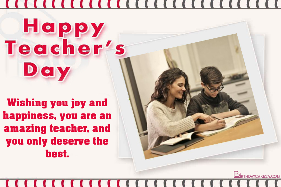 free teachers day greeting wishes cards with photo frames