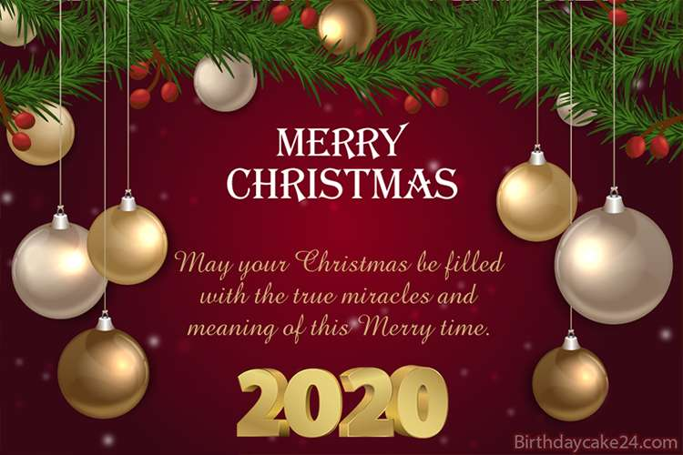 Wish You Merry Christmas Greeting Cards