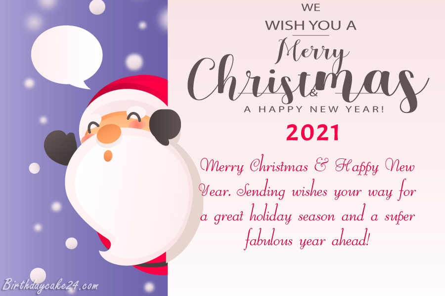 Whats New In Christmas Cards 2021 Christmas And New Year Wishes Card For 2021