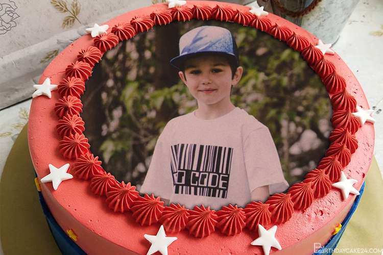 Best Star Birthday Cake Images With Photo Frames