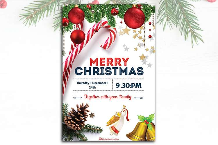 Christmas Party Poster Maker Online