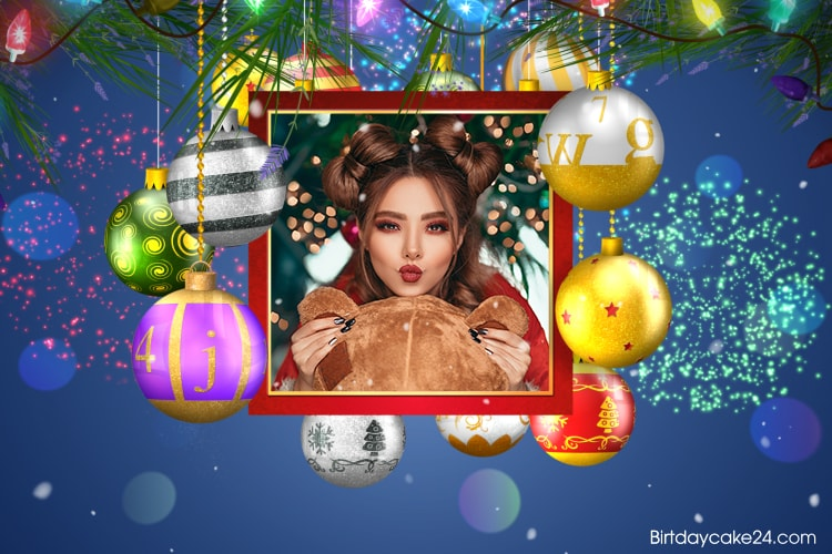 Merry Xmas Video Card With Your Photos