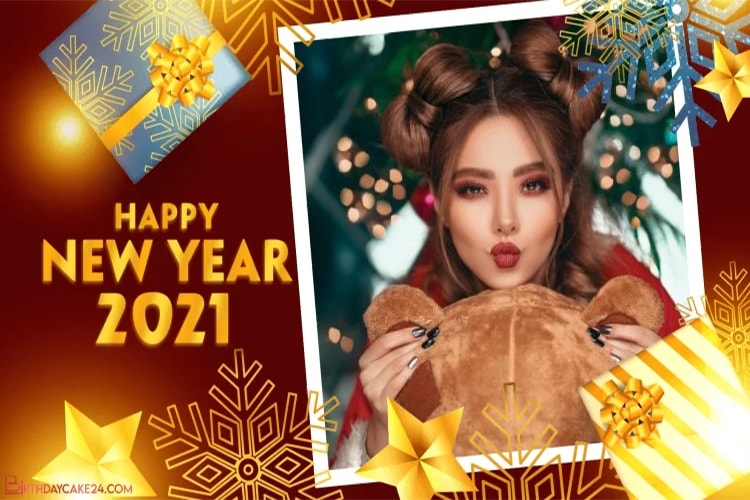 Happy New Year 2021 Video Maker Online Free