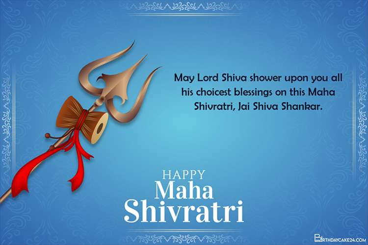 Design Custom Maha Shivratri Greeting Cards Online For Free
