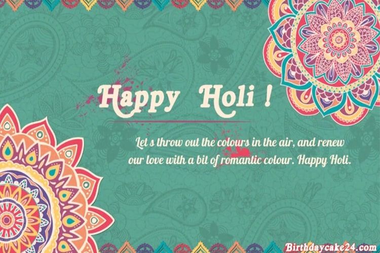 Happy Holi Greeting Video Maker Online Free