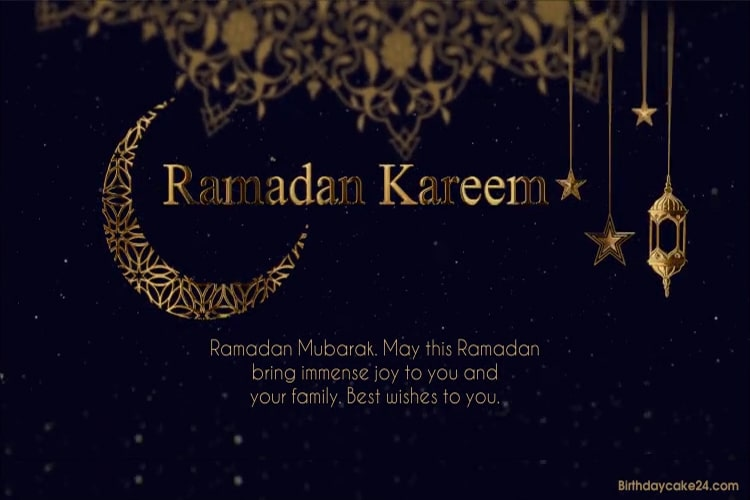 Create Sparkling Ramadan Mubarak Greeting Videos With Wishes