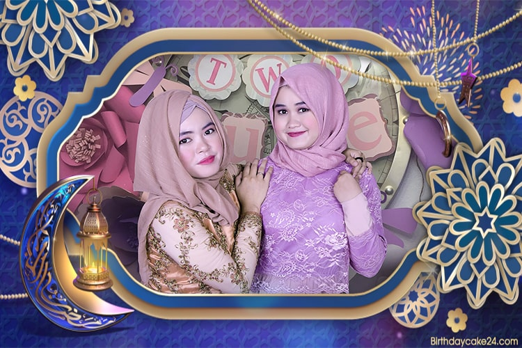 Create Ramadan Mubarak Greeting Videos With Photo Frames