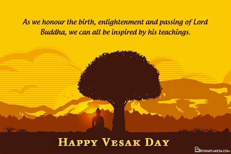 Creative Happy Vesak Day Wishes Cards Online Free